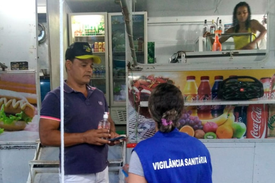 VIGILANCIA SANITARIA NO PONTAL
