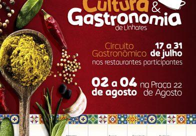 Em sua segunda edição, Festival de Cultura e Gastronomia terá 21 estabelecimentos participantes