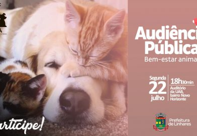 Prefeitura realiza audiência pública sobre bem-estar e proteção de animais