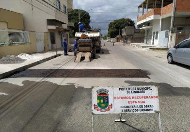 Prefeitura de Linhares avança nos trabalhos de manutenção viária