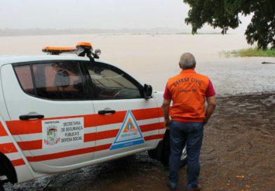 Boletim: Defesa Civil em alerta para novas pancadas de chuva neste sábado (7)