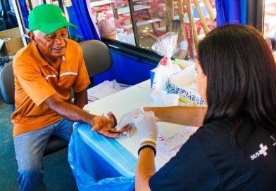 Prefeitura realiza mais de 600 atendimentos de saúde em ação no Pontal do Ipiranga